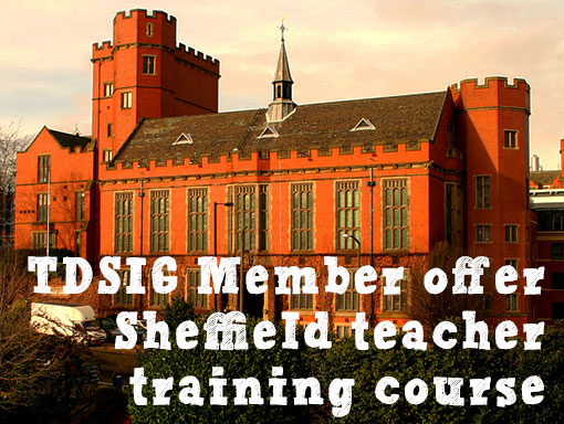 TDSIG Member Offer: Being a Teacher Trainer course with Sheffield