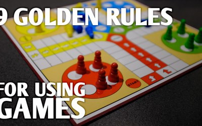 Post-CELTA Professional Development 10: 9 Golden Rules for Using Games in the Language Classroom