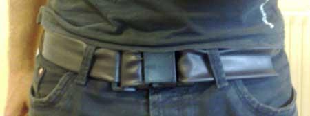 Cinturón reciclado