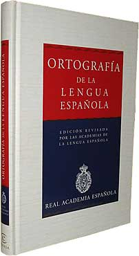 Ortografía de la Lengua Espanola