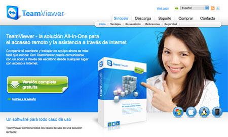 TeamViewer, acceso remoto a tu ordenador pot internet