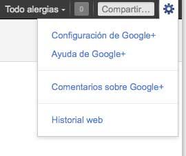 Configurar Google+