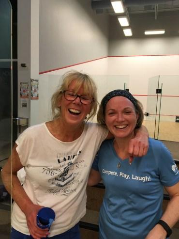 Jennifer Bennett and Dangerous Debbie McKinnon