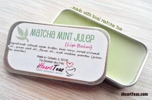 Matcha Mint Julep Lip Balm Pic