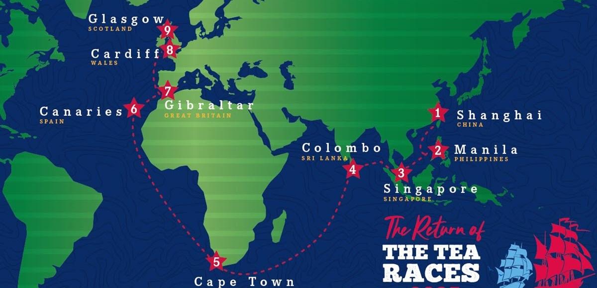 Tea Clipper Races Reborn