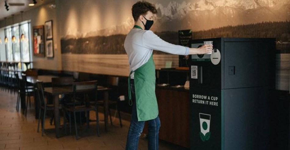 Starbucks Borrow a Cup
