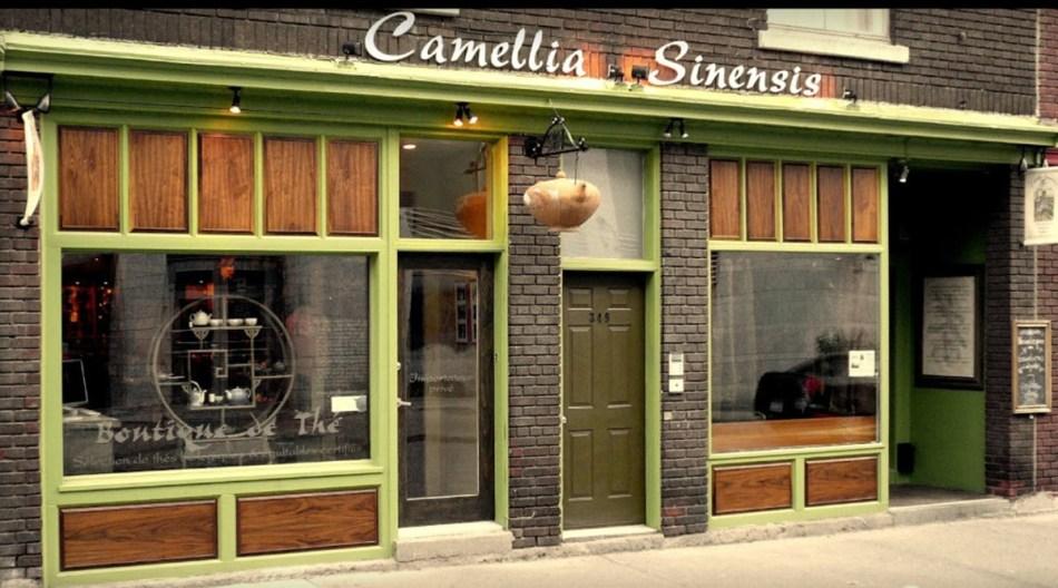 Camellia Sinensis 351 Rue Émery, Montréal.