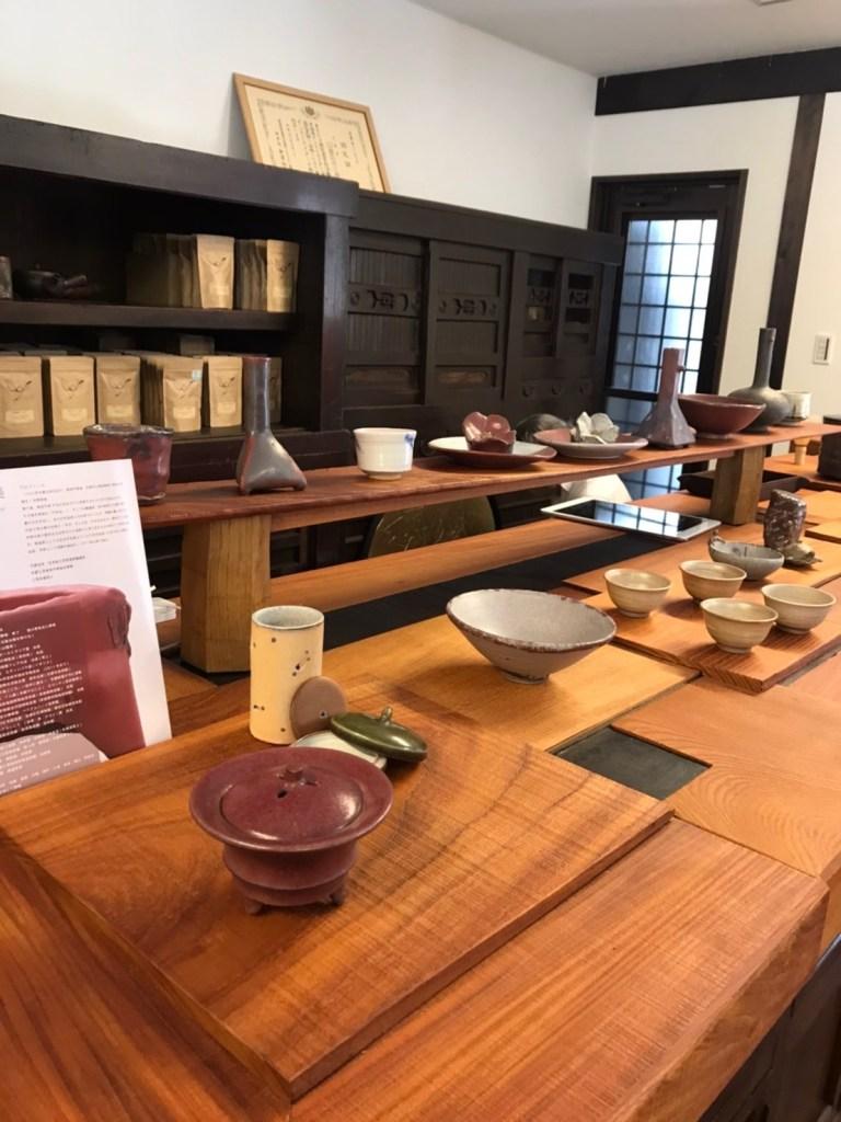 Tea Crane Interior