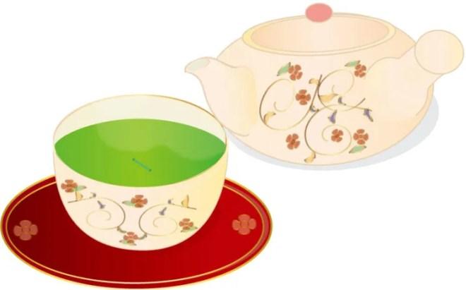お茶と湯呑
