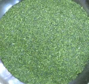 粉茶の茶葉