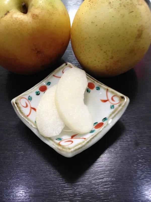 甘みの強い秋麗梨