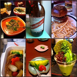 This is a (very) small sample of some of what we ate and drank. Foodstagram!