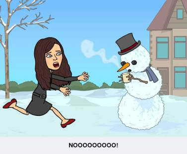 No Frosty the Snowman, holidays