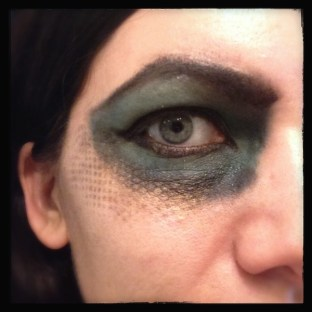 Medusa Makeup Test