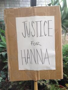 #justiceforhanna