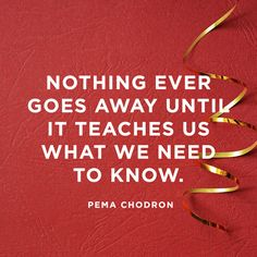 pain teaches pema chodron