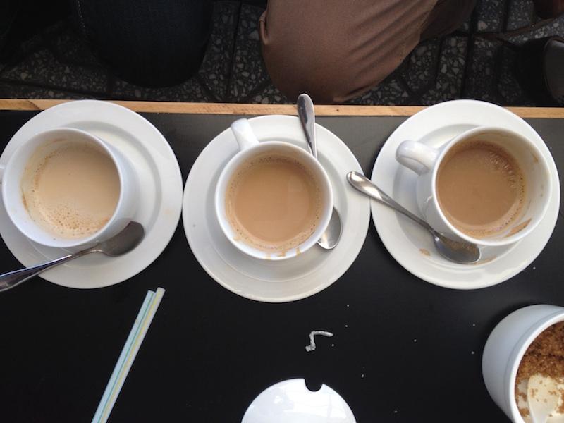 Sara coffee tasting