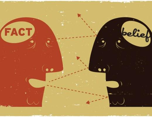 fact belief talking heads dissonance