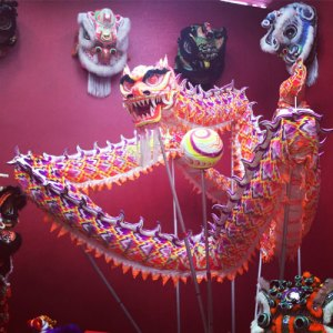 CNY, dragon, puppet, pearl, traditional