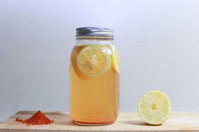 Lemon cayenne drink