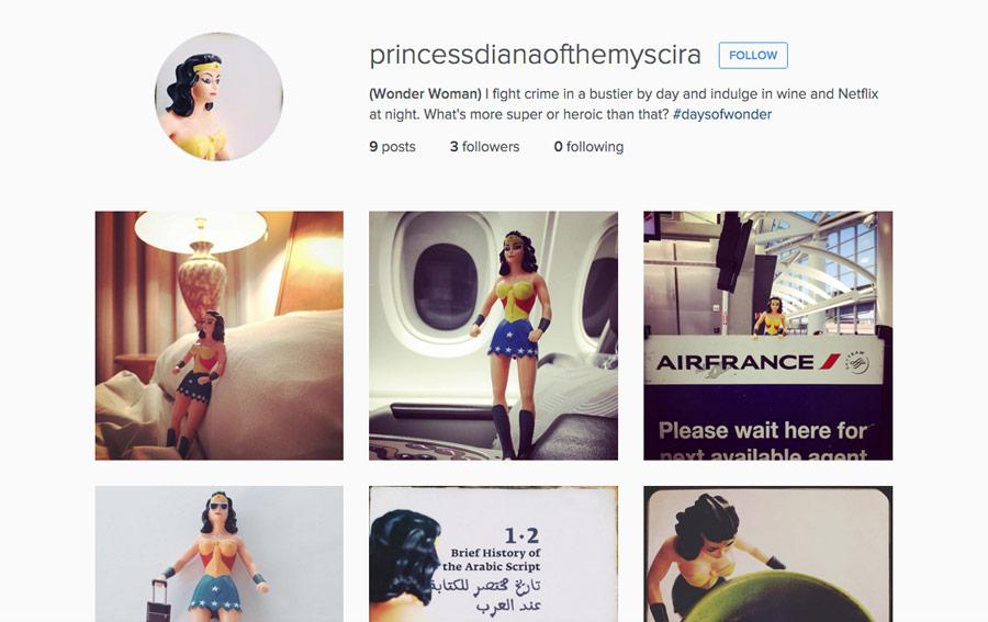 Wonder Woman, Instagram, International Women's Day, Heroine, Icon, JoAnna