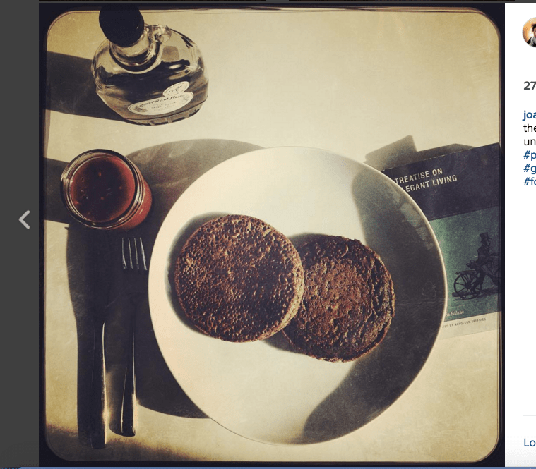 This is the dairy-free, gluten-free, buckwheat pancake...perfected. I'm certain Balzac would be proud.