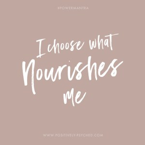 power cards, self, self-love, nourish
