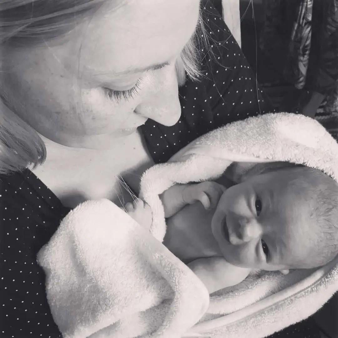9 months, baby, Jam, mother, motherhood