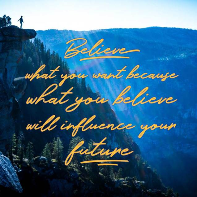 Believe, belief, future, control, destiny, self help
