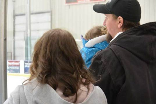 hockey, hockey family, ice rink, hockey parents