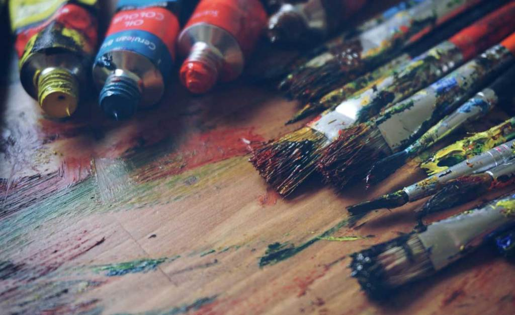 paint, paint brushes, artist, brushes, art adjacent