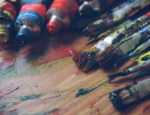 paint, paint brushes, artist, brushes, art adjacent