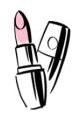 lipstick sketch