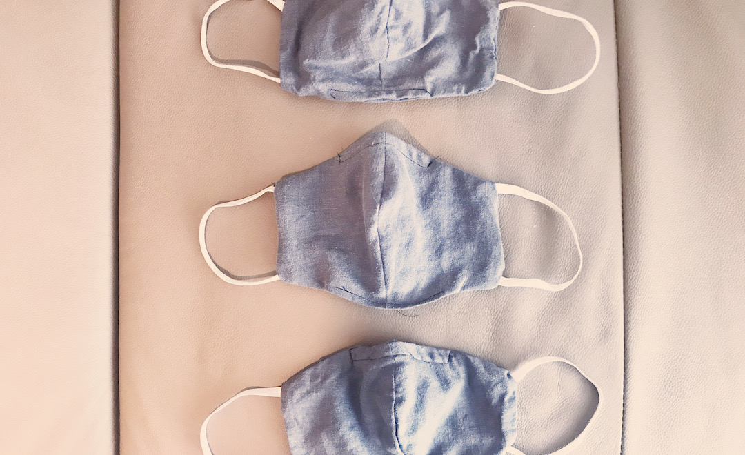 3 home sewn face masks for staying eco in quarantine