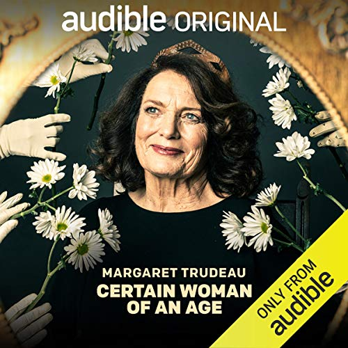Margaret Trudeau's book cover, only on Audible listening