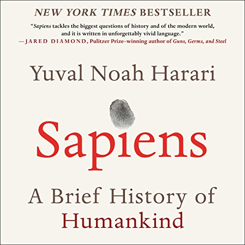 Yuval Noah Harari's book cover