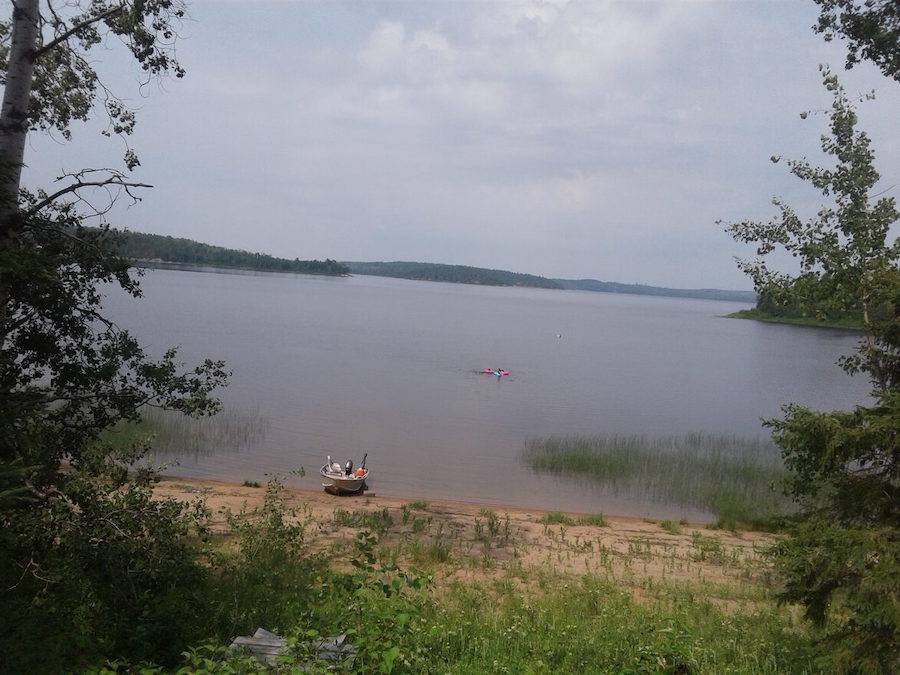 Image of a Northern lake