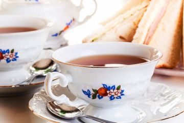 A high tea spread