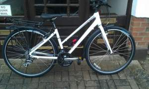 My lovely bike, all shiny and new nearly three years ago. Its still almost as shiny and new now!