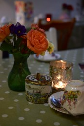 Garden Centre and Tea Room Potton end with Julia