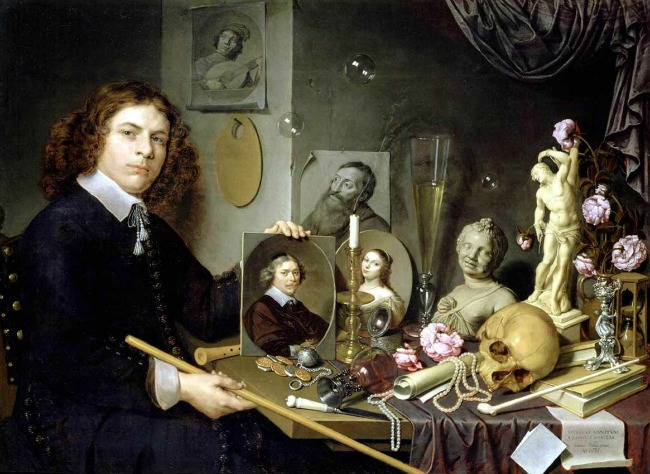 Disney's Beauty and the Beast draws from the rich vanitas symbolism of historical paintings.