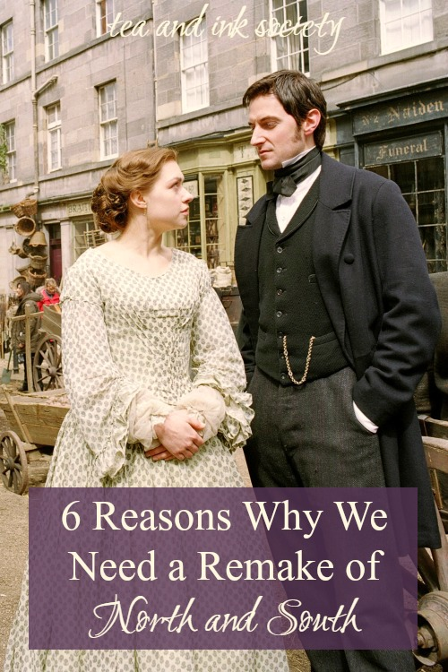 Everyone loves the 2004 BBC North and South, but it doesn't measure up to Gaskell's original novel. Can we get a more faithful adaptation that still has Richard Armitage as Mr. Thornton? #NorthandSouth #ElizabethGaskell