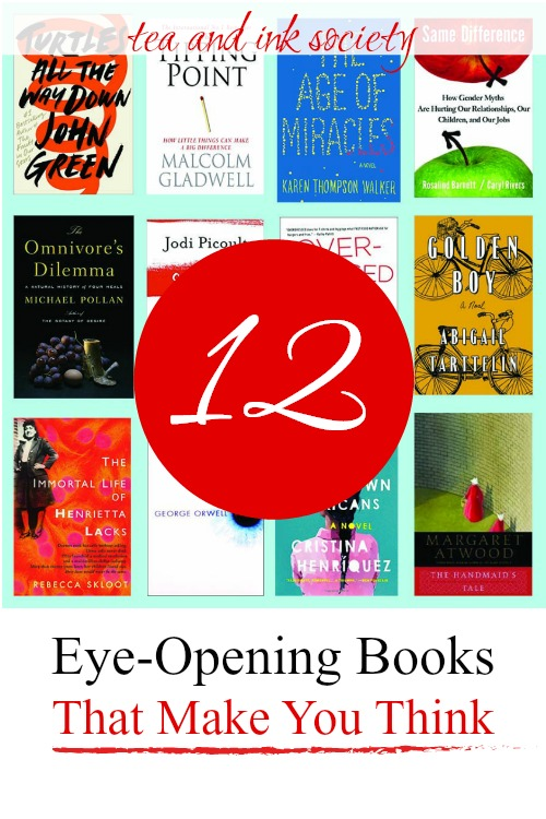12 Eye-Opening Books That Make You Think (Fiction & Nonfiction Picks)