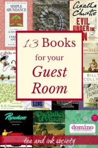 13 Books to Put in Your Guest Room