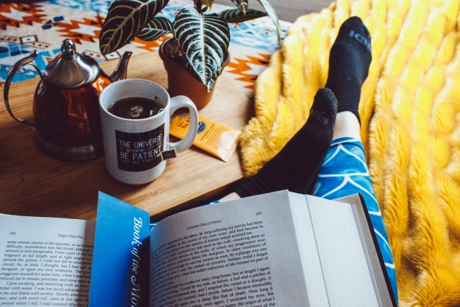 Here's how to get back into the habit of reading again--especially if you tend to binge watch Hulu and Amazon Video!