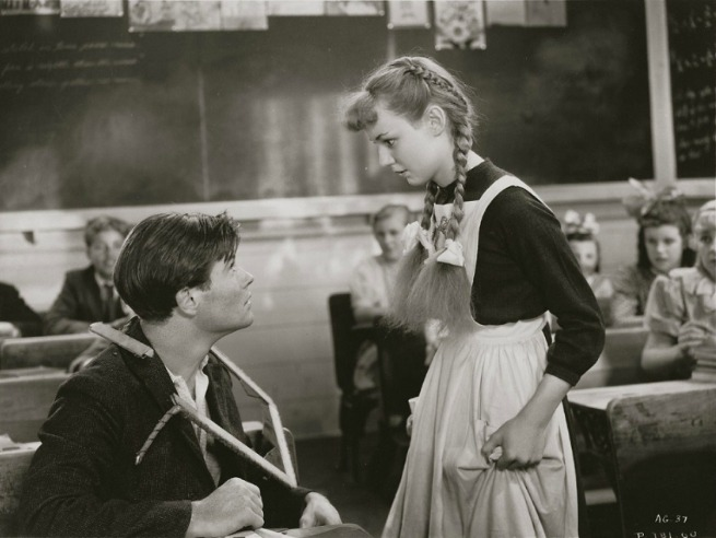 Anne Shirley and Gilbert Blythe in the 1934 Anne of Green Gables film.