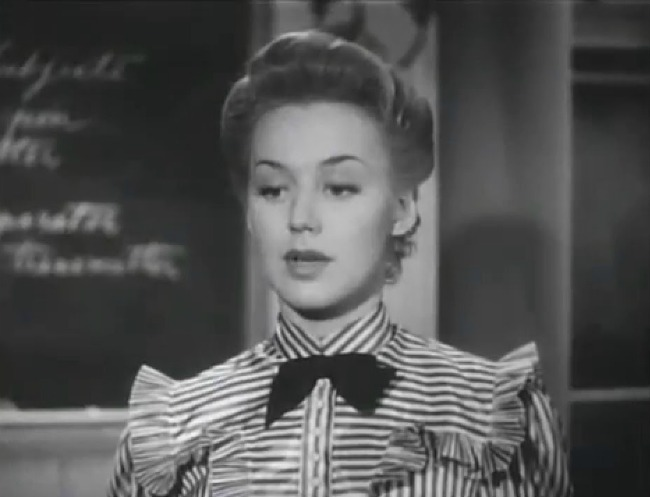 Anne Shirley in the 1940 movie Anne of Windy Poplars