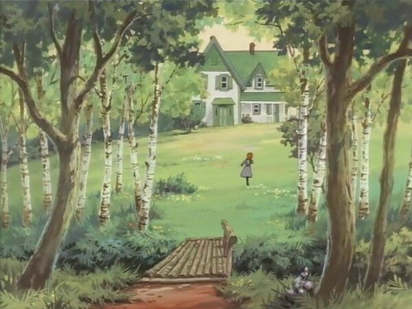 """Akage no An"" Japanese anime version of Anne of Green Gables"