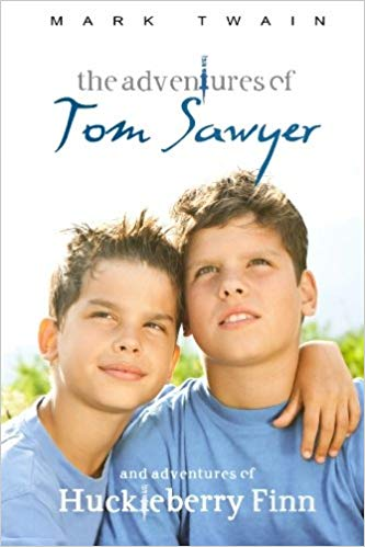 Bad stock photo cover for Tom Sawyer