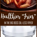 Slimming World Friendly Recipe - Healthier Fries In The Big Boss Oil-less Fryer